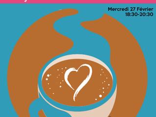 Soirée de lancement des Suspendus chez Ginette, 46 av des Minimes le 27/02