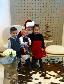 Little ones and Santa :)