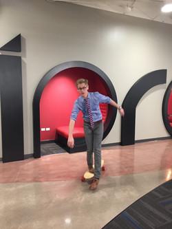 Matt and his board skills