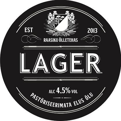 Vaadiõlu Raasiku Lager 4,5%alc