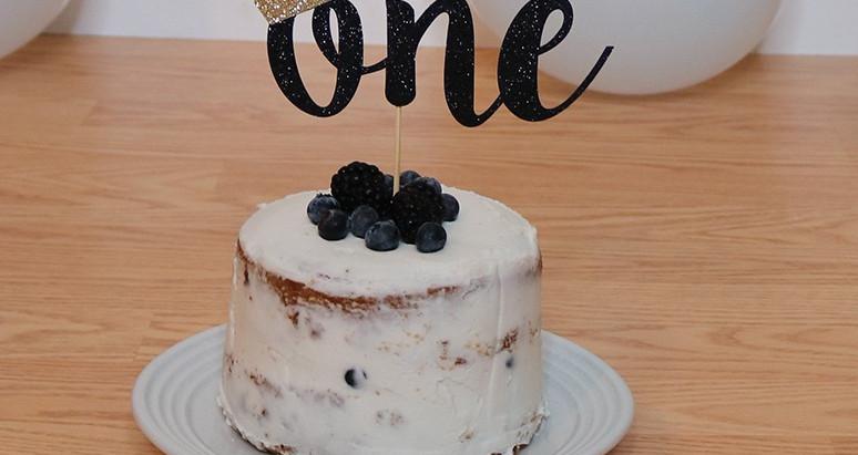 Vegan and Gluten Free Birthday Cake