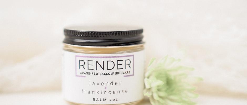 Lavender + Frankincense