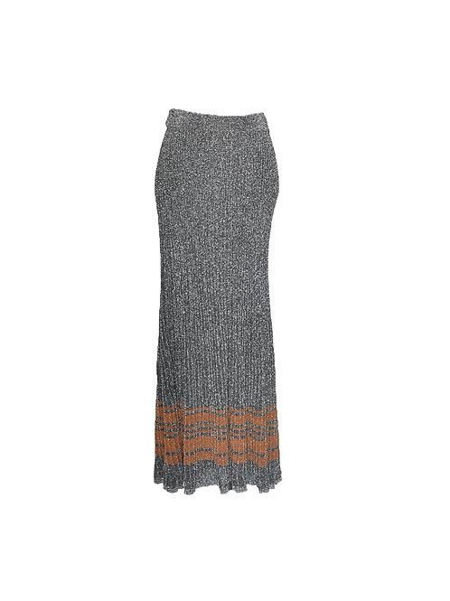 Falda larga stretch