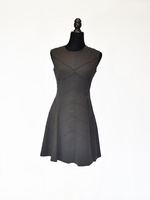 Vestido diseño geométrico