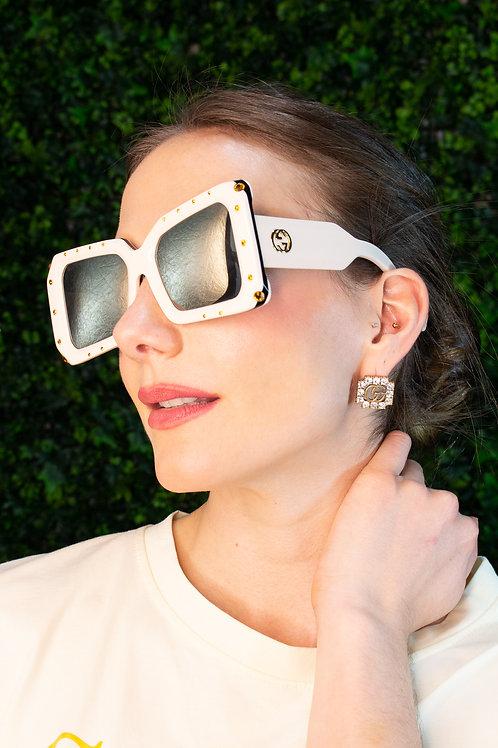 Gafas acetato blanco