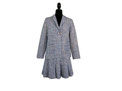 Conjunto tweed de falda