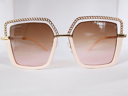 Gafas cadena Rosa
