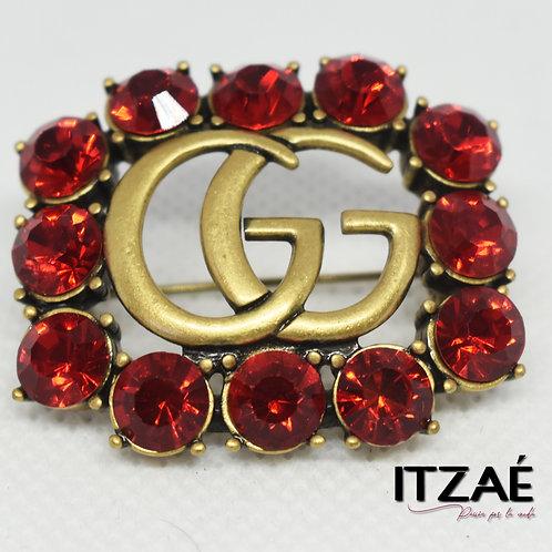 Pin GG Rojo