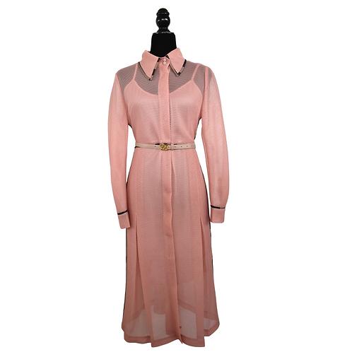 Vestido camisero palo de rosa