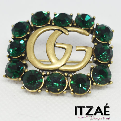 Pin GG verde