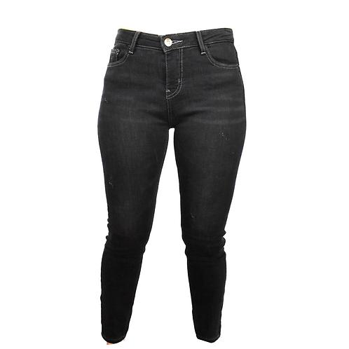 Pantalón en denim negro