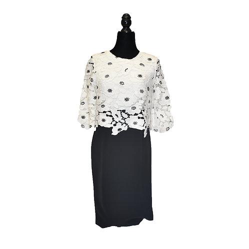 Vestido blusa de encaje