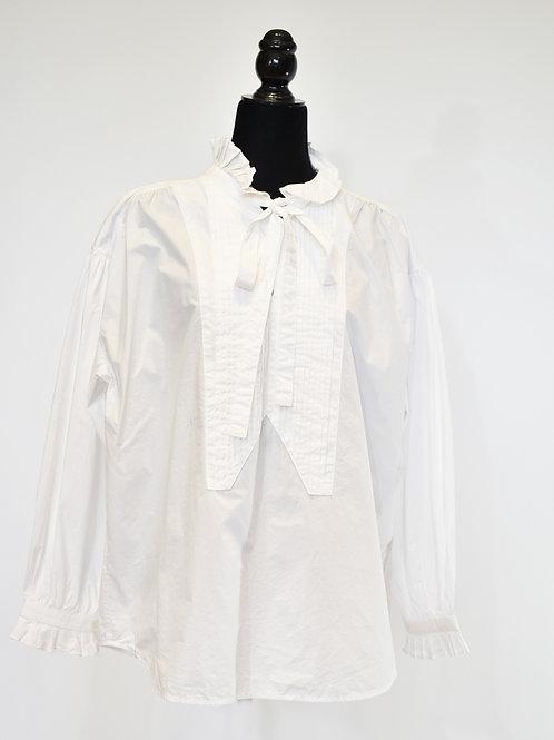 Blusa blanca pasarela 2020