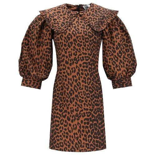 Vestido Ocre Animal Print
