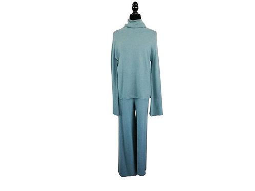 Conjunto lana azul