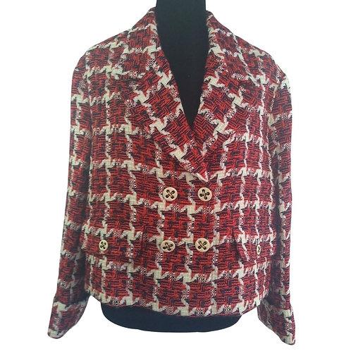 Blazer Tweed Cuadros