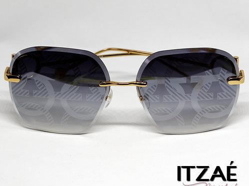 Gafas negro / dorado