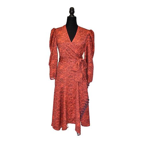 Vestido Envolvente Rojo