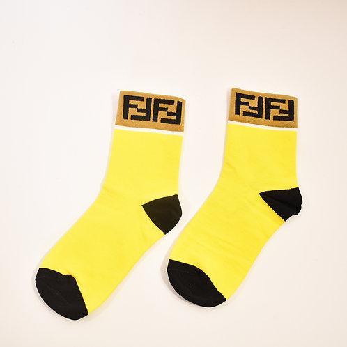 Calcetas amarillo