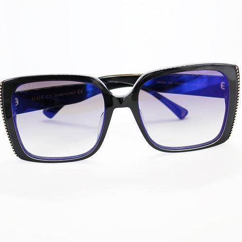 Gafas cuadradas negro