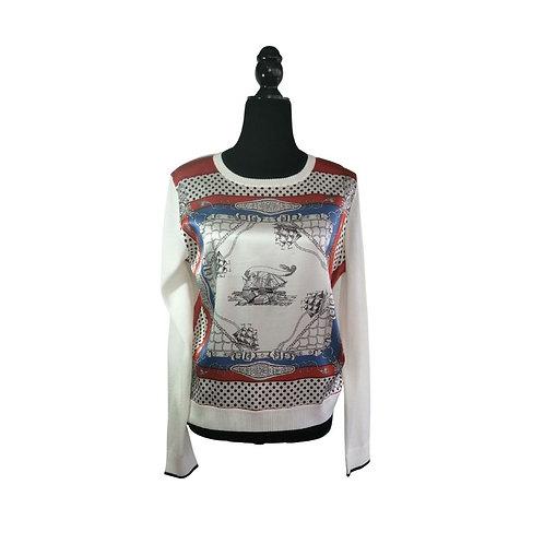Sweater Blanco Barcos