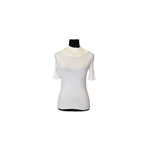 Blusa de punto  blanca