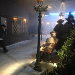 Lights, Camera, Action! On the movie set of Buttons: A Christmas Tale