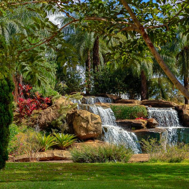 Vista do Jardim para Cascata