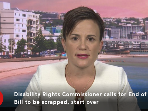 """""""Woefully inadequate"""" - Disabilities Commissioner on End of Life Bill"""