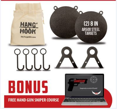 Hang 'N Hook Target System - The Contender Kit