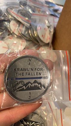 Krawl'n For The Fallen Trail Badge