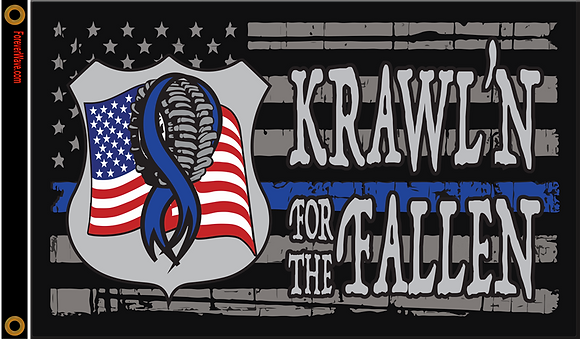 Krawl'n For The Fallen Flag 3×5′