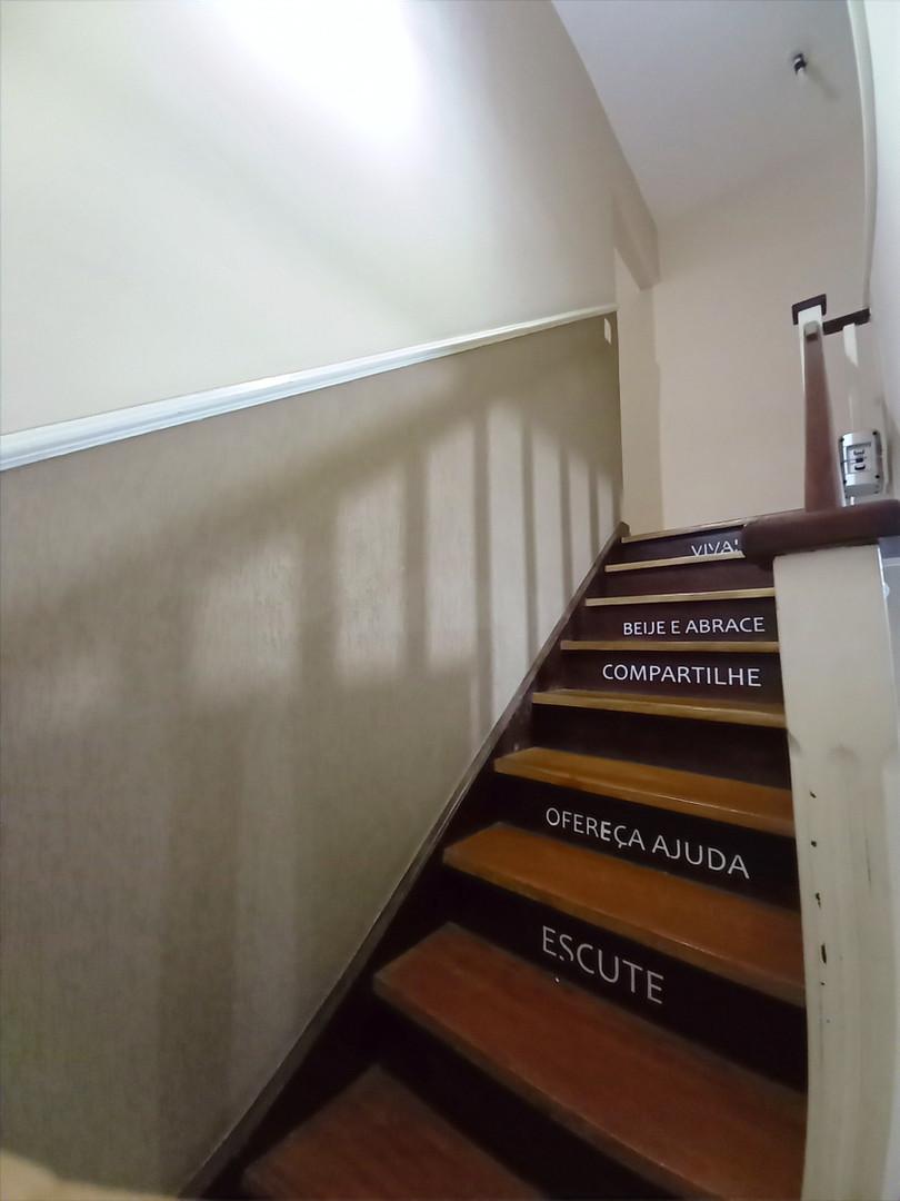 Nossa escada...