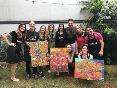 Workshop de Pintura e Escrita Intuitiva