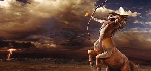 Imagem do centauro Quiron da Mitologia grega