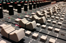 Darth Fader! Mixing Console, Mix view. Audio Post Production