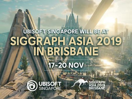 Ubisoft Singapore at SIGGRAPH Asia 2019