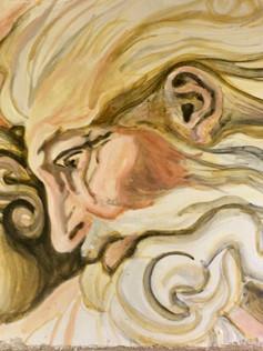 Fresco- Michelangelo's God
