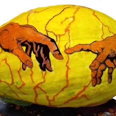 God & Adam's Hands