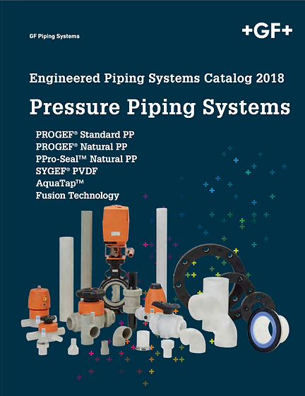 Cover of Pressure Piping Systems product catalog