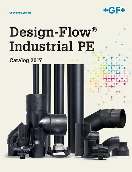 Cover of Design-Flow Industrial PE product catalog
