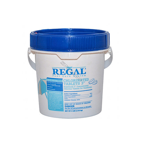 """Regal Chlroinated Tablets 3"""""""