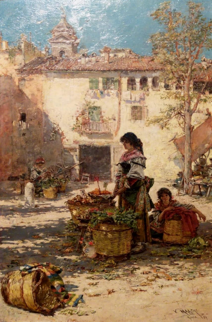 Fruits seller