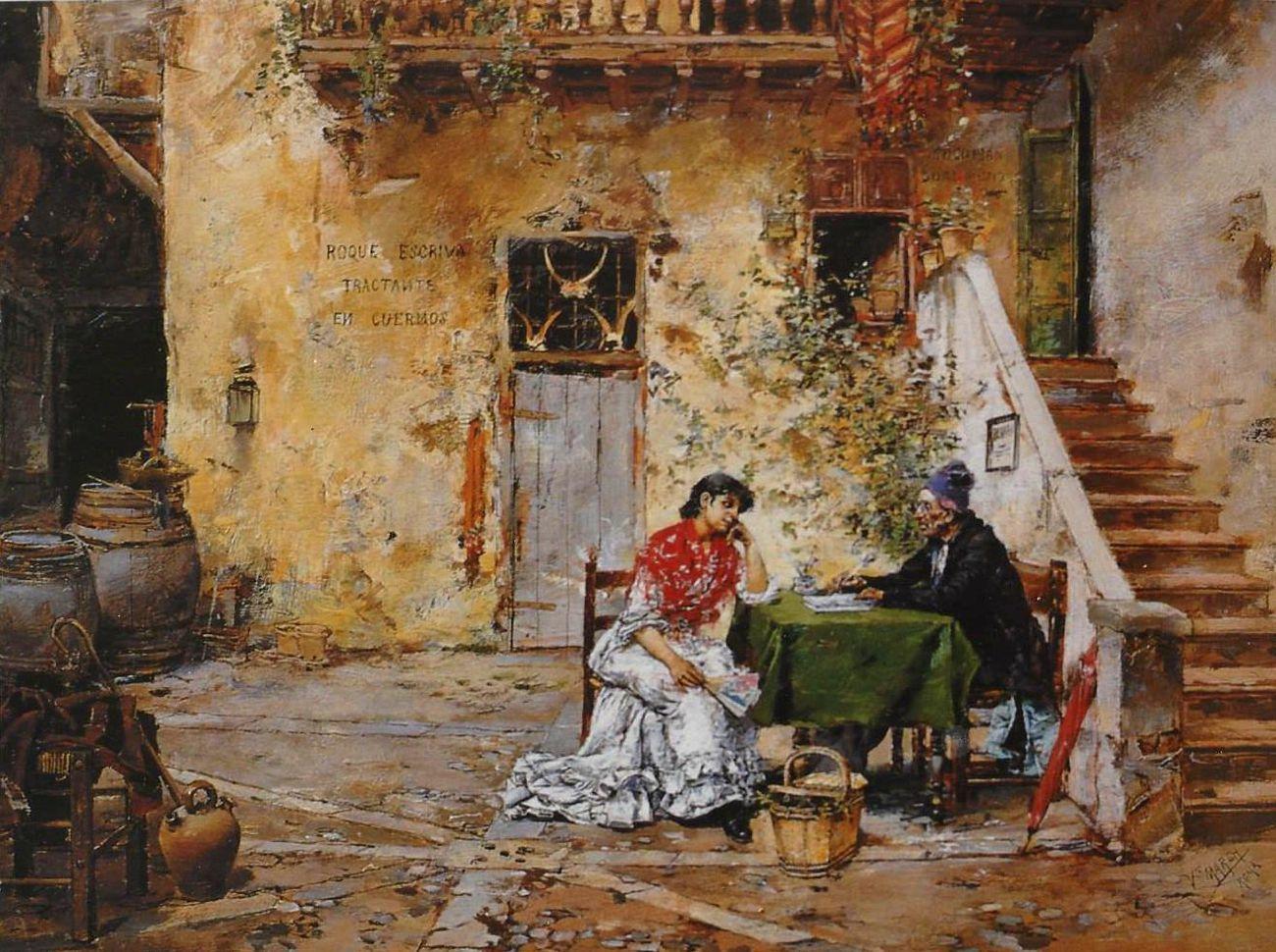 Andalusian yard