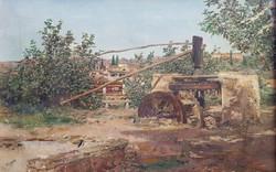 The grandfather's noria