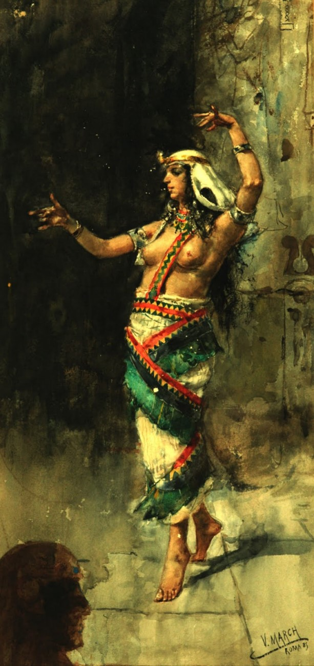 The oriental dancer