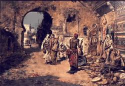 En the souk