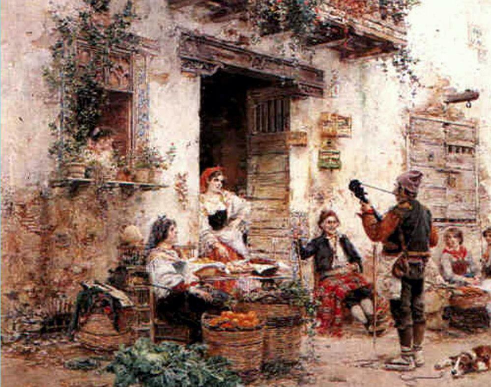 The little village musician