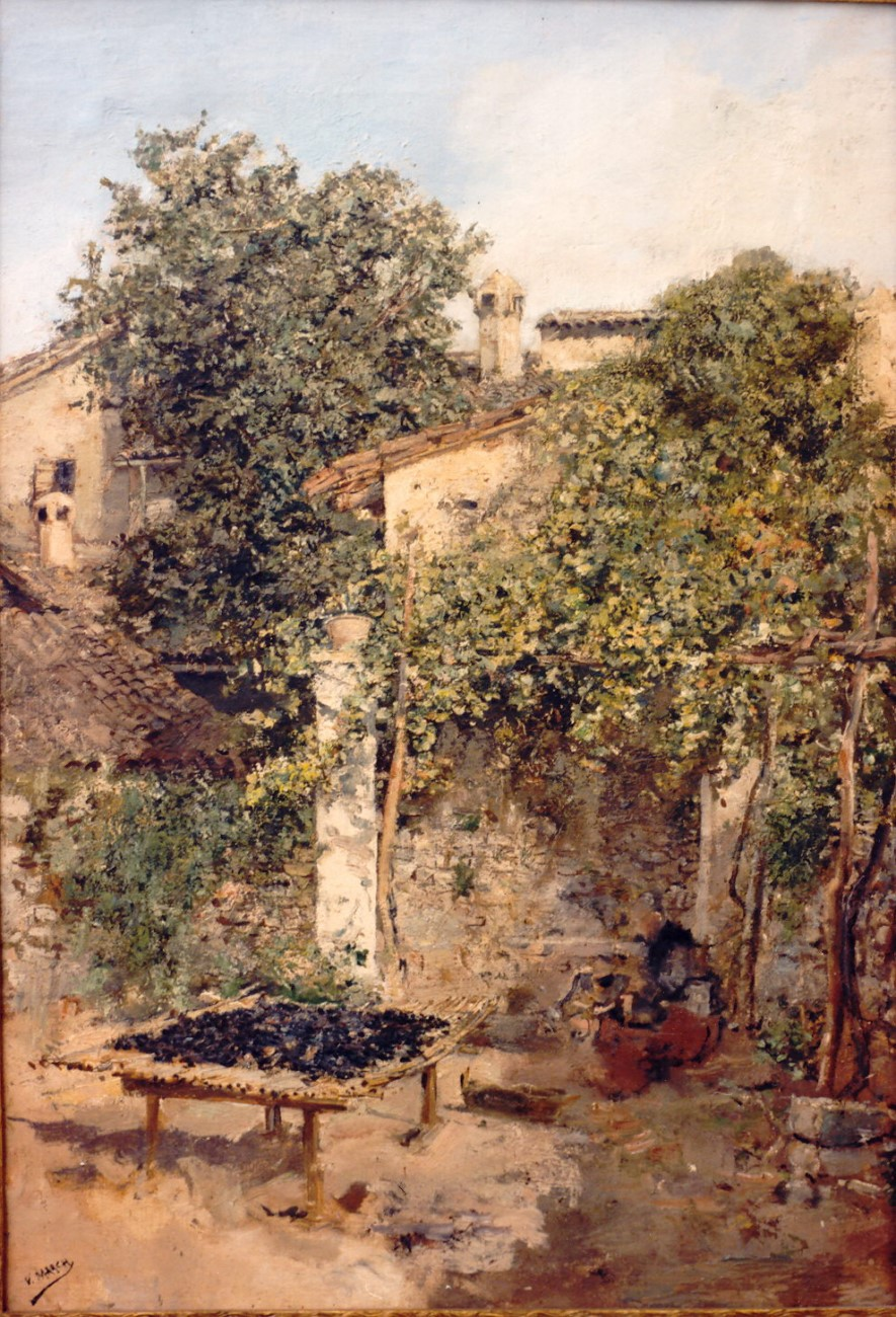 Beniganim, drying figs