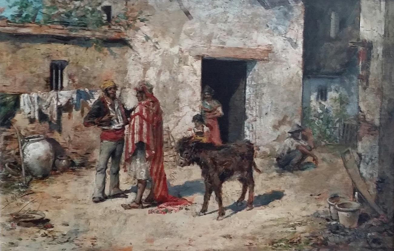 Selling the donkey